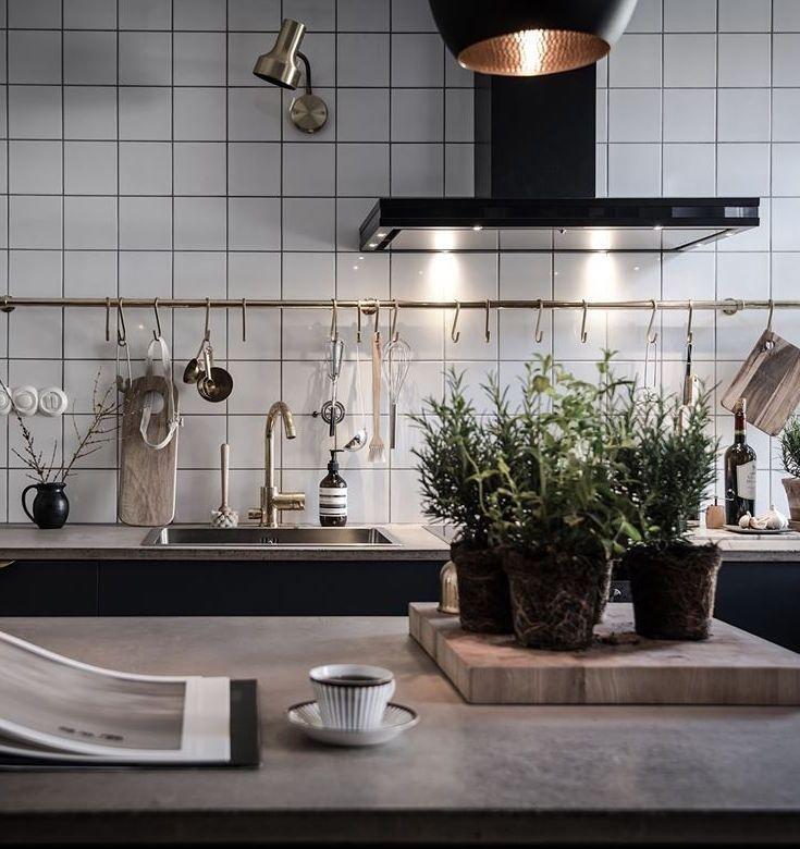 The perfect kitchen | Electrodomésticos negros, Cocinas y Decoración ...