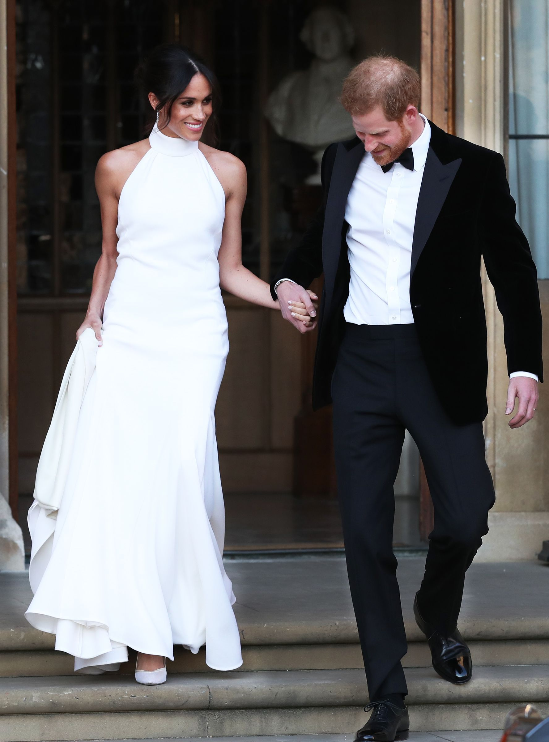 Now You Can Buy A Replica Of Meghan Markle S Reception Dress Meghan Markle Wedding Dress Wedding Dresses Reception Dress