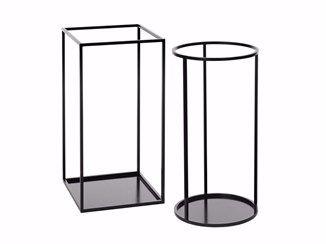Powder coated steel umbrella stand RACK | Umbrella stand - Schönbuch