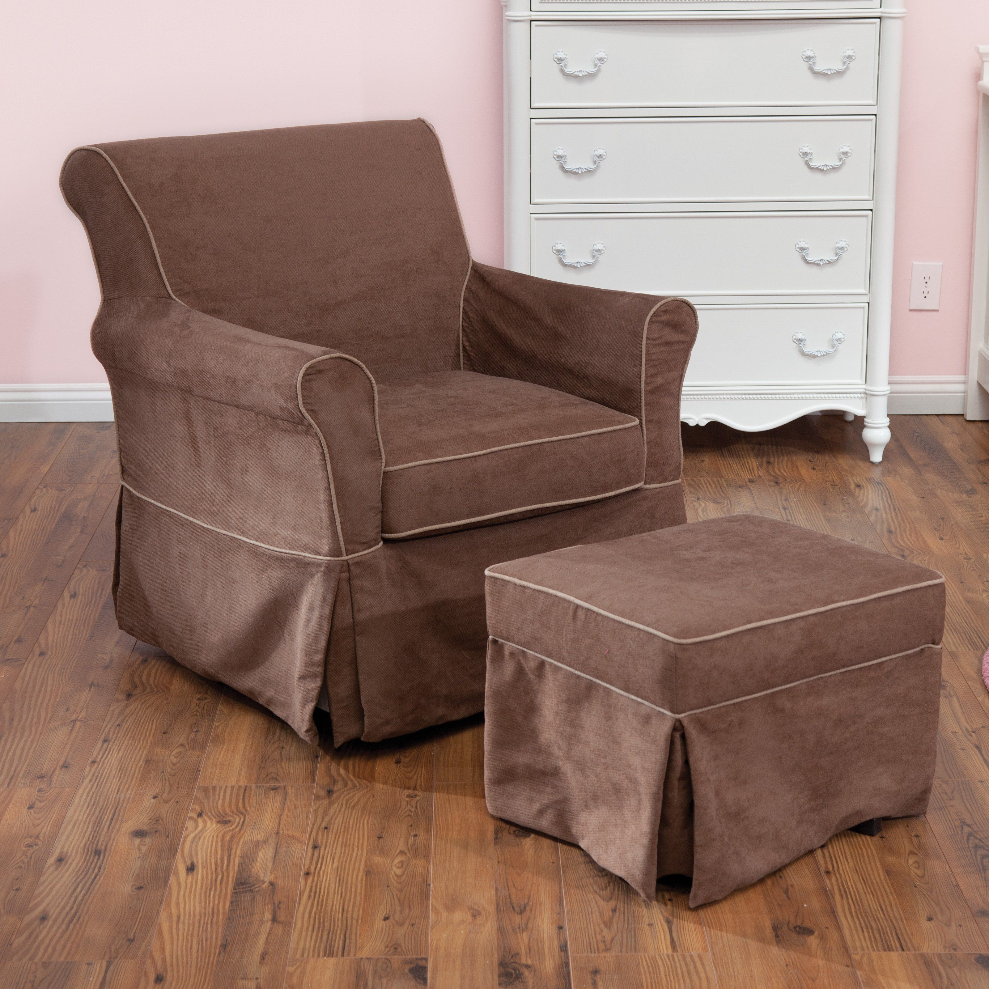 Dorel Asia Swivel Glider and Ottoman Set Ordering our