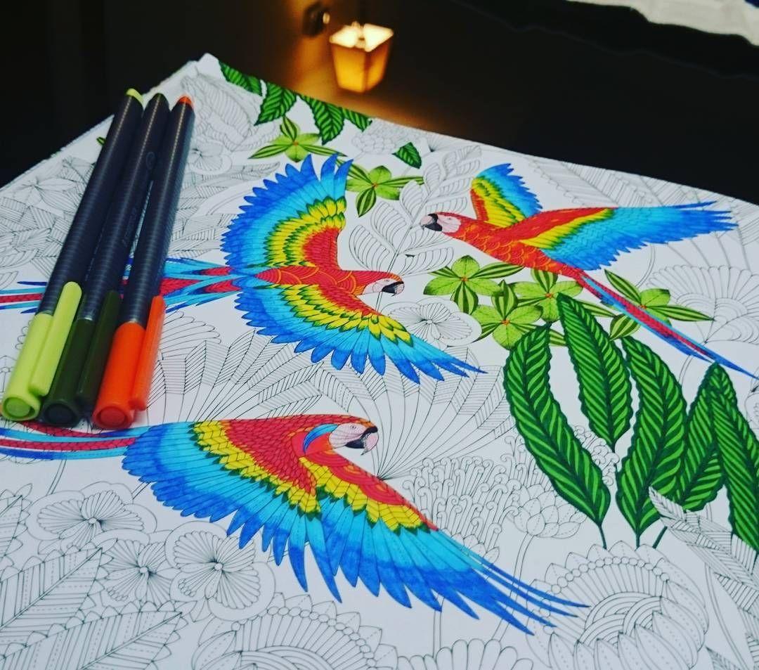 Work In Progress Tropical Wonderland Colouring Book Coloring Mandalas Underthesea Mandalaart Uk Kuwait Coloringbook Staedtler