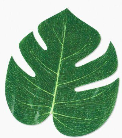 Amazon.com: 12 Tropical leaves -luau party decorations: Home & Kitchen