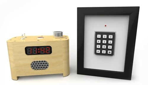 Alarm Clock That Needs A Password To Stop Ringing - DesignTAXI.com