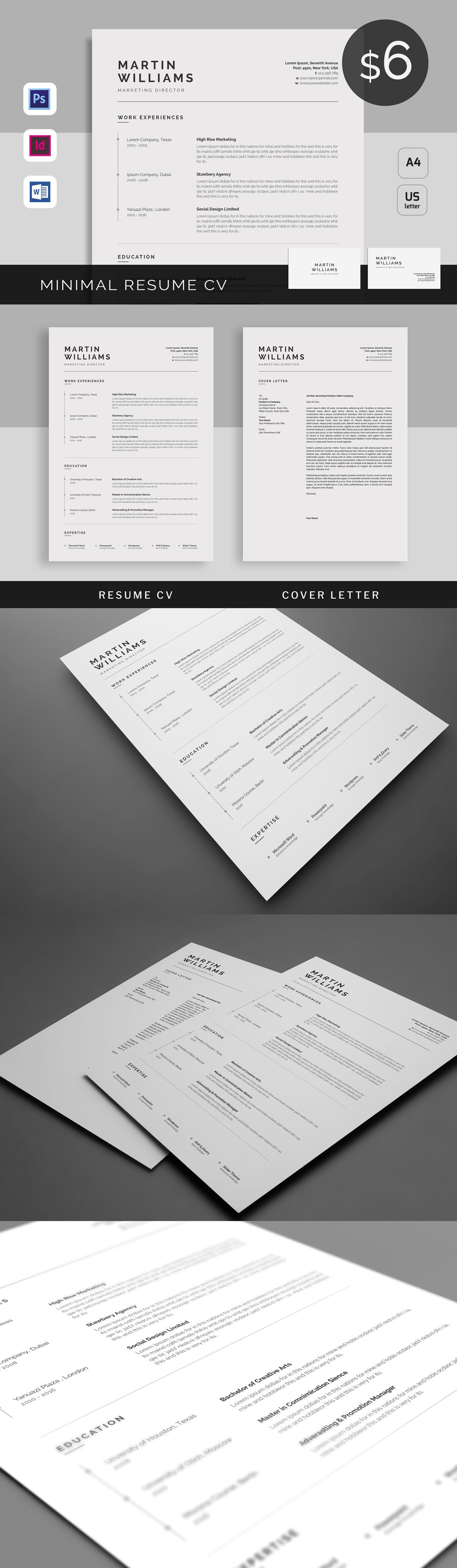 Resume/CV Template INDD | Resume Templates | Pinterest