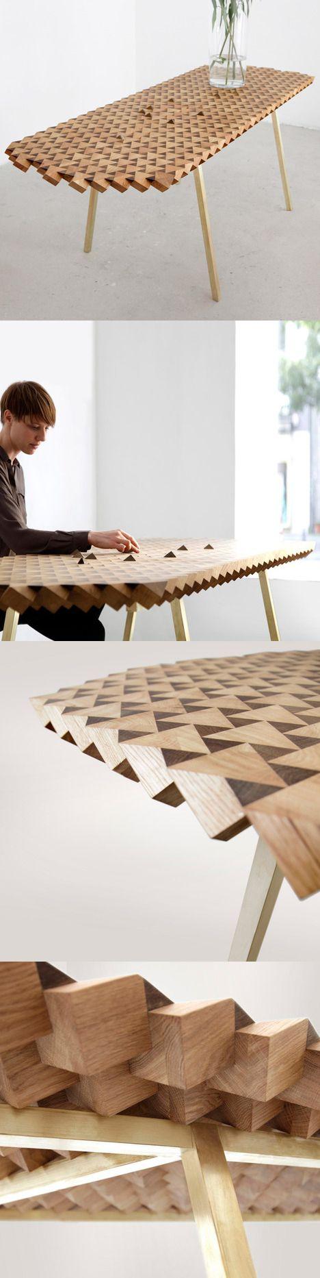 Atlas Table By Gunnar Ronsch Stephen Molloy Wood Furniture Design Furniture Design Furniture
