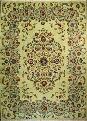 Kashan Persian Rug Buy Handmade Kashan Persian Rug 10 4 X 14 1 Authentic Persian Rug Persian Rug Persian Carpet Rugs
