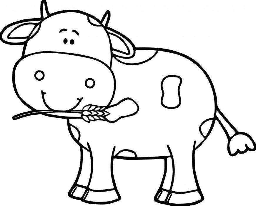 Cow Mask Printable Coloring Page For Kids Hayvan Sablonlari