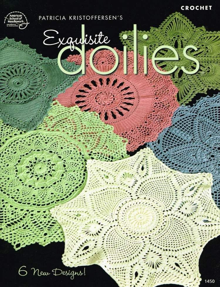 Exquisite Doilies Crochet Pattern Book 6 Doily Patterns Patricia