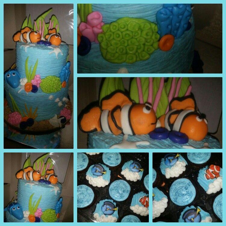 Finding Nemo Baby Shower Cake By Curshanacakes Curshanacakes