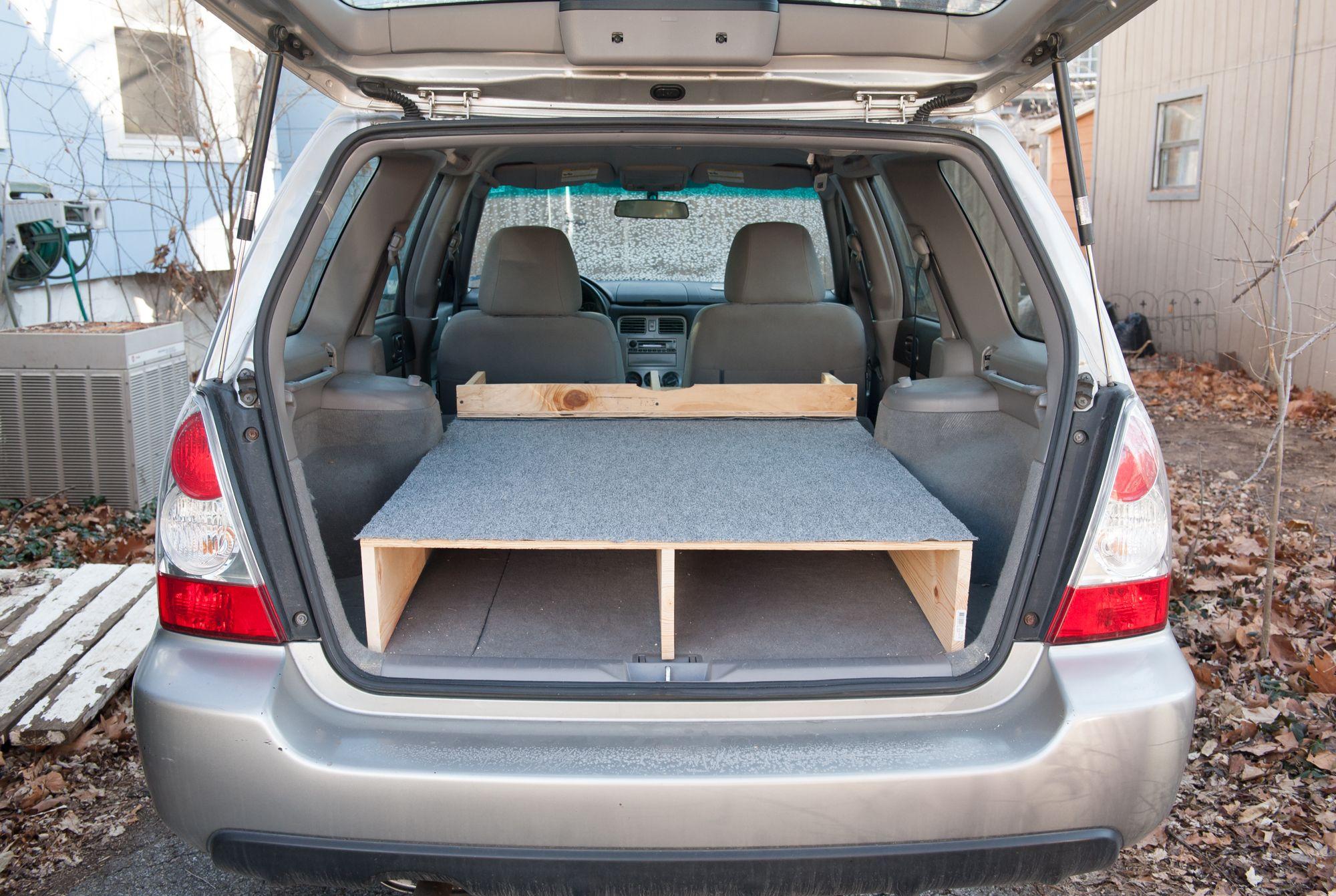 Subaru Car Camping