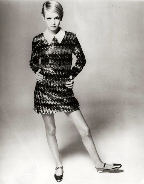 Twiggy 1960s Mod Vintage Fashion Swinging Sixties 1960s Models Twiggy Style Twiggy Beauty