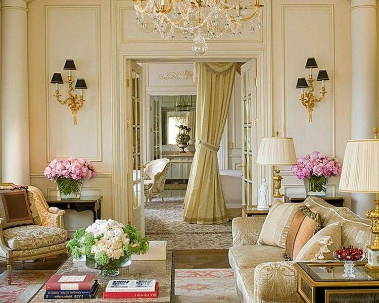 Salon déco style victorien moderne en 48 idées   Victorian, Salons ...