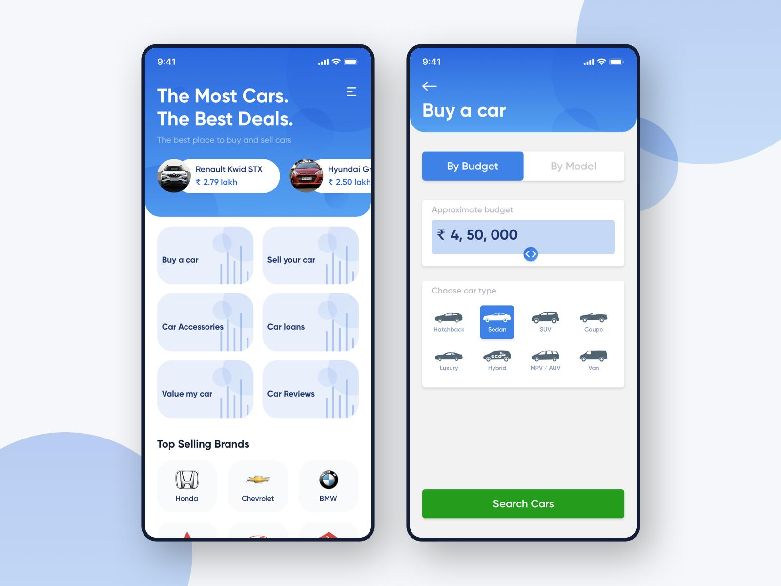 Car Marketplace App