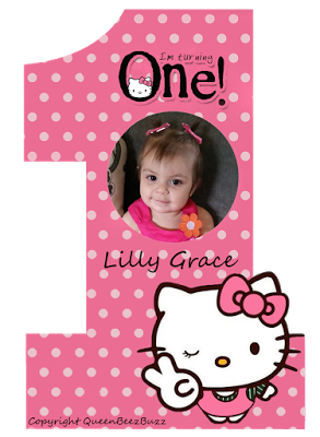 The Queen Beez Buzz: Lilly Bear's 1st Birthday Party!