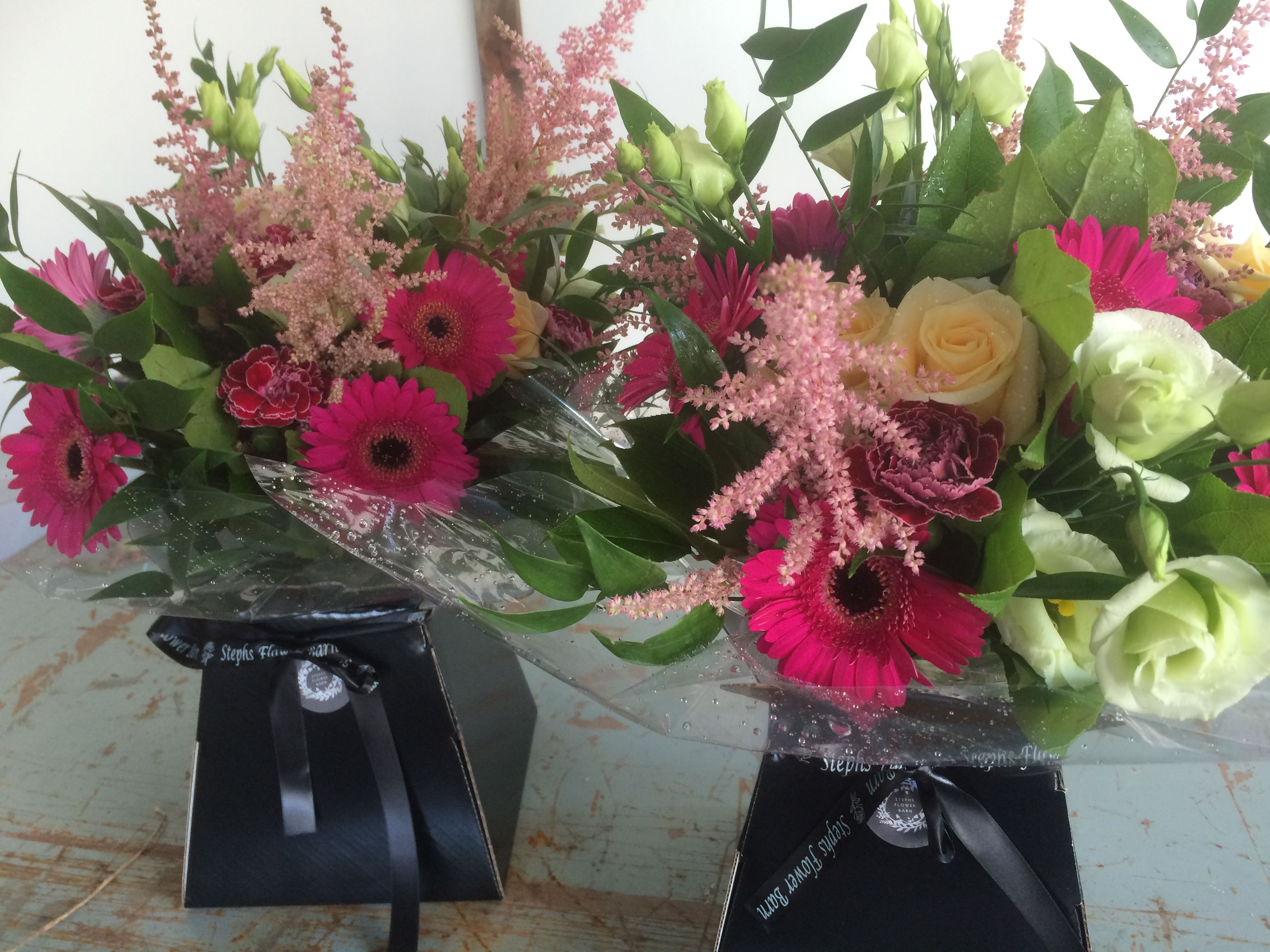 Thank you Bouquet for mother of the bride and groom | Stephs Flower ...