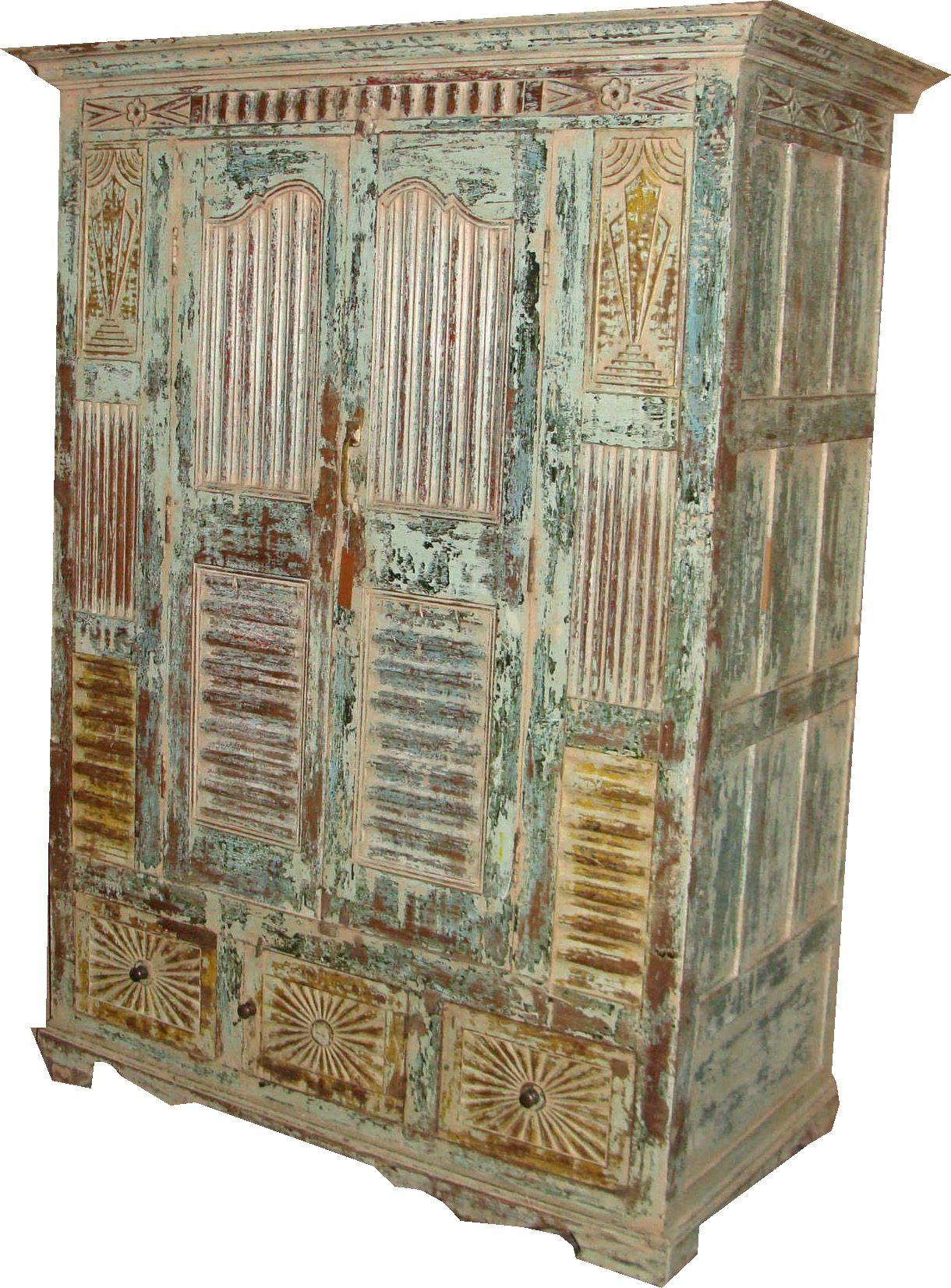 Armadio indiano di epoca coloniale mobili for Mobili colorati design