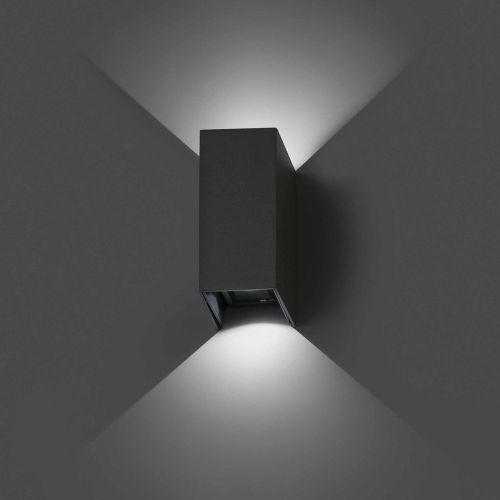 Klick Licht stilvolle wandaußenleuchte blind