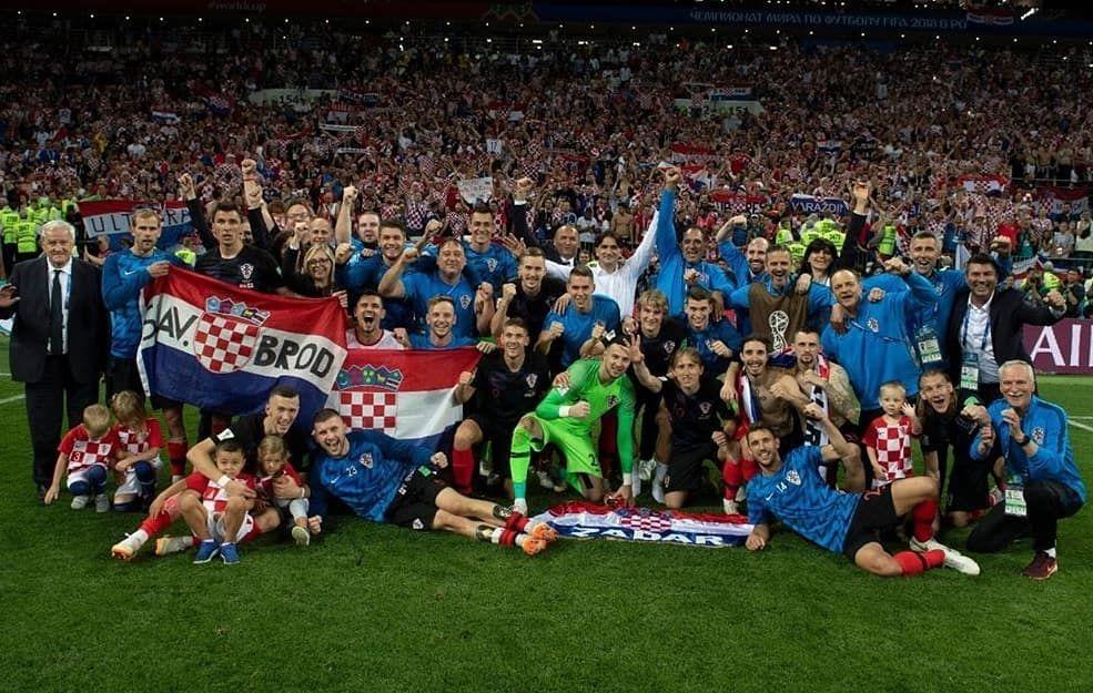 Dreams Come True Croatia Is In The World Cup Final Photo By Hns Cff Worldcup Final Russia2018 Cro Proud Kroatien Fussball Kroatien Fussball