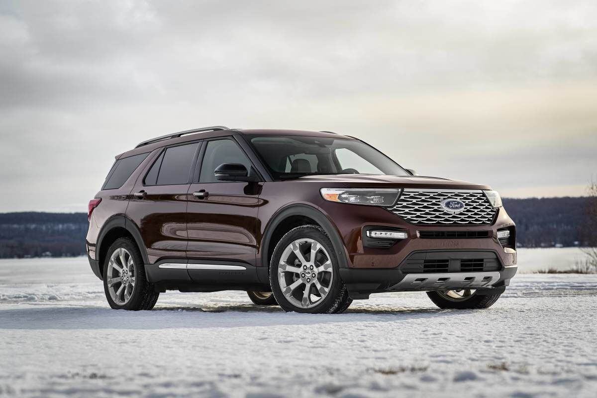 Ford Reveals Its Re Designed 2020 Explorer 2020 Ford Explorer Ford Explorer Ford Suv