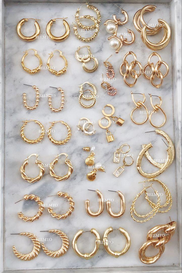 Gold Jewelry Obsession | Belmto