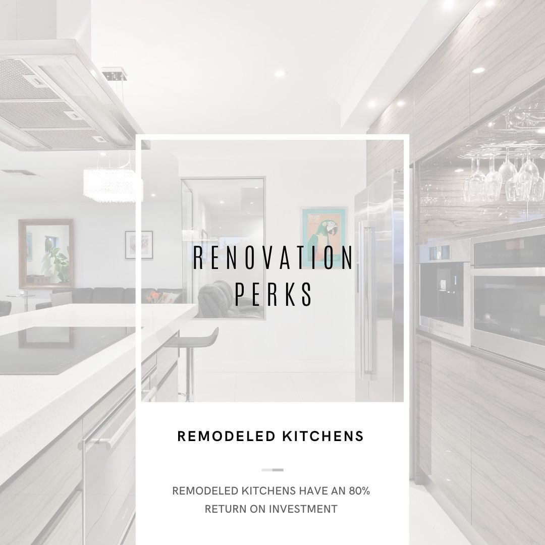 One amazing renovation perk before selling your home is doing a kitchen remodel. You get an EIGHTY PERCENT return on investment. Can't beat that! #design #interiordesign #homedecor #homesweethome #kitchen #homestyle #kitchendesign #kitchendecor #mykitchen #kitchenset #kitchenremodel #kitchenware #kitchenlife #inmykitchen #kitcheninspo #kitche #inthekitchen #kitcheninspiration #bayarearealestate #bayarearealtor #trivalleyrealestate #trivalleyrealtor #livermorerealestate #livermorerealtor #pleasan