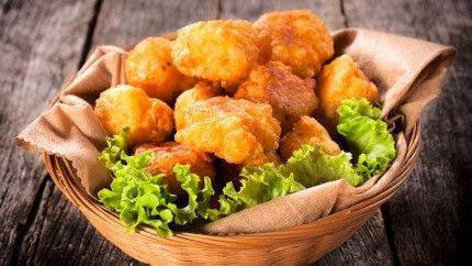 كرات البطاطس بالدجاج Recipe Potato Recipes Cooking Recipes Greek Recipes