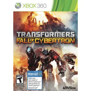 Transformers: Fall of Cybertron w/ Walmart Exclusive Bonus* War for Cybertron (Xbox 360)