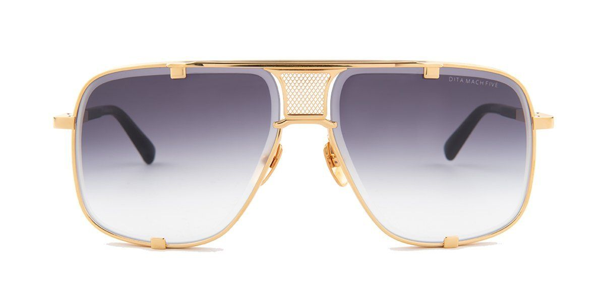 a398883620d7 Dita - Mach Five Gold - Black sunglasses