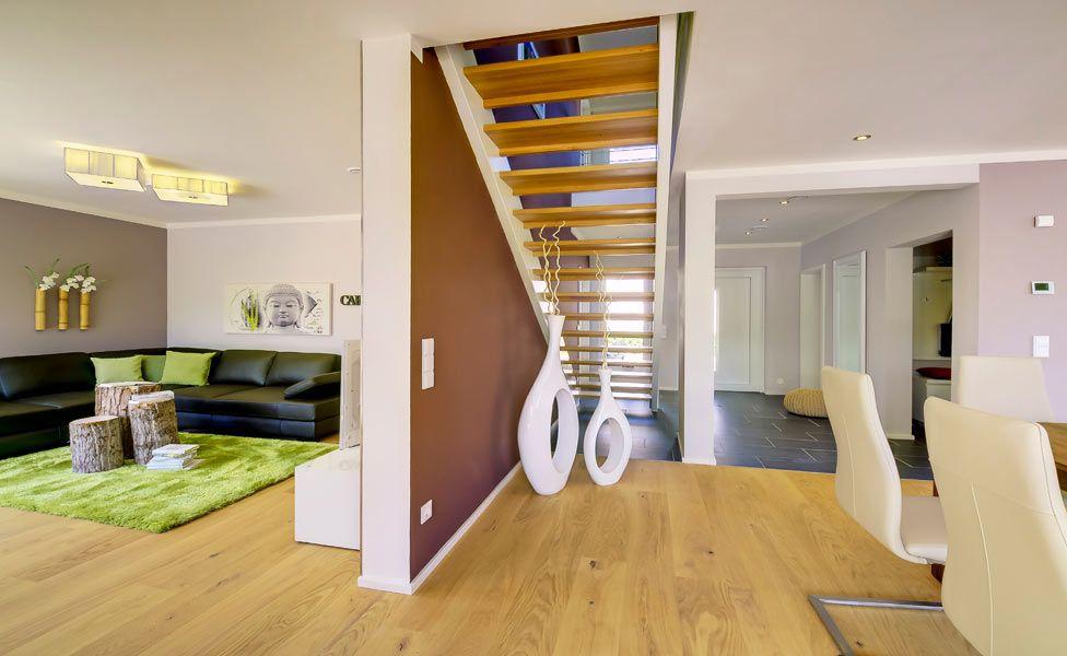 Wohnzimmer Im Plusenergiehaus Basic Line Jubilee Xxl Plus