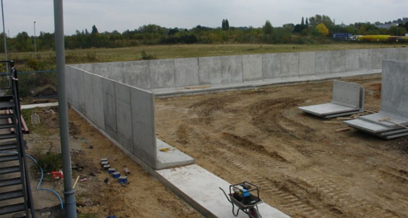 Retaining Wall L Bloc Retaining Wall Precast Concrete Concrete Retaining Walls