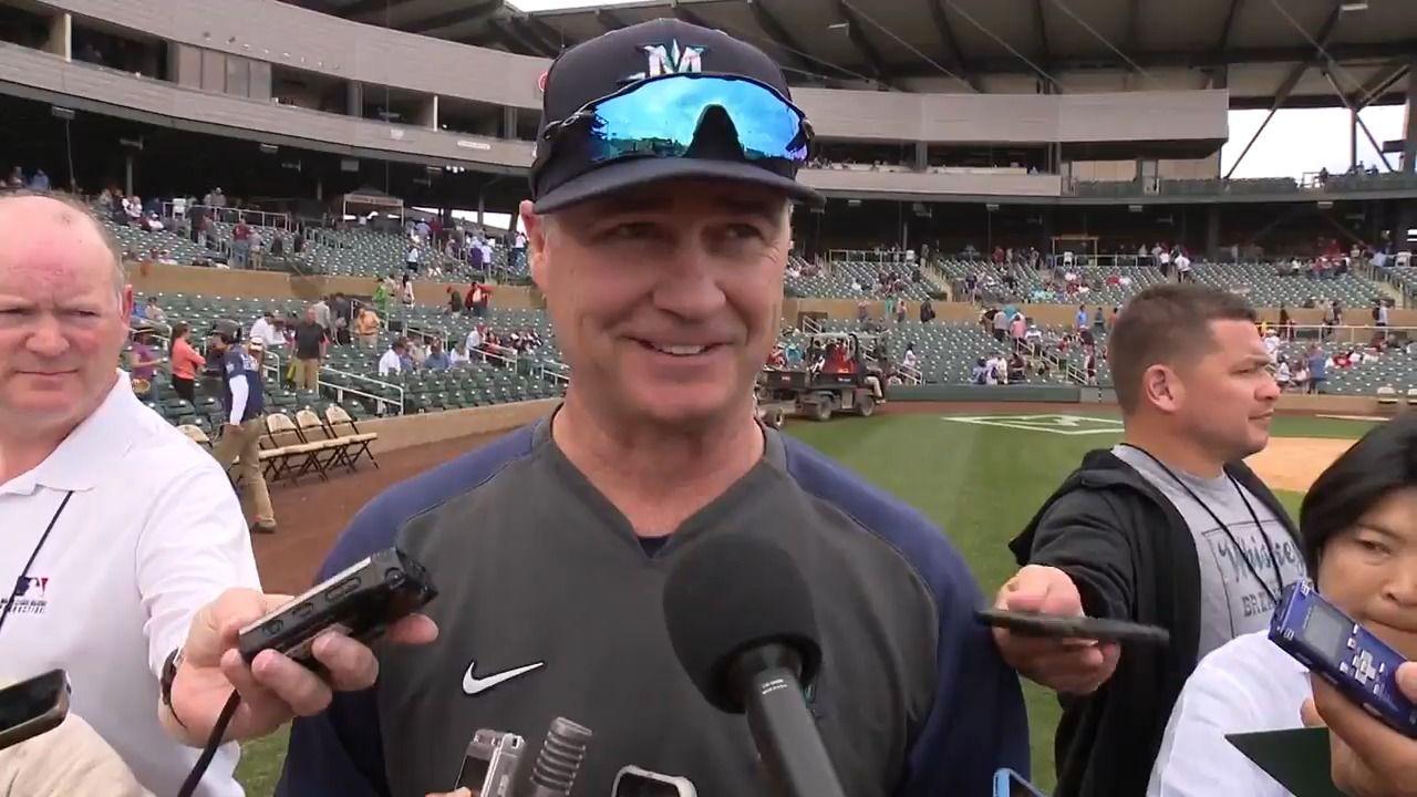Scott Servais recaps the Mariners' 62 Cactus League win