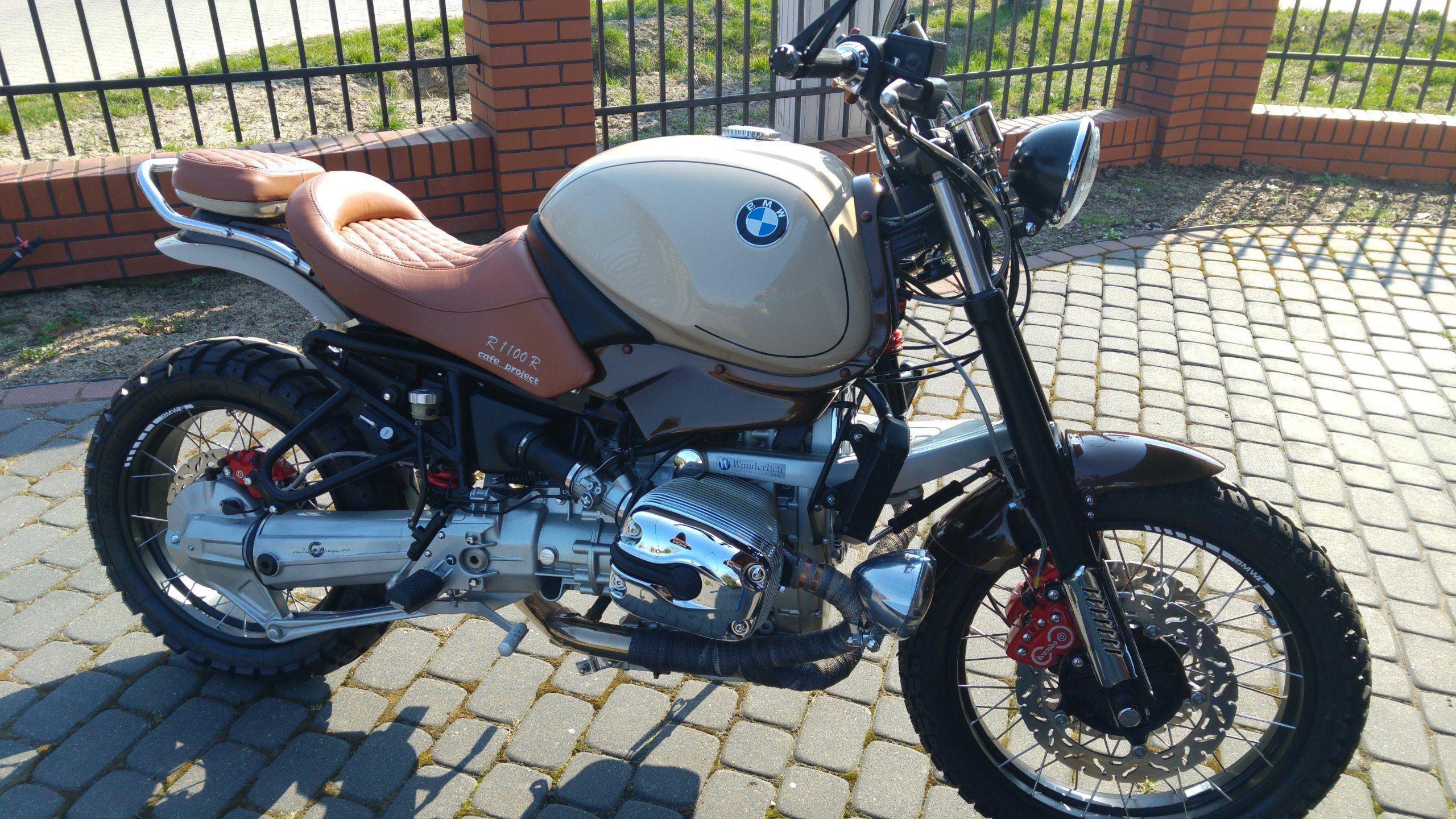 Bmw R1100r Custom Bmw Motorrad Motorrad Bmw