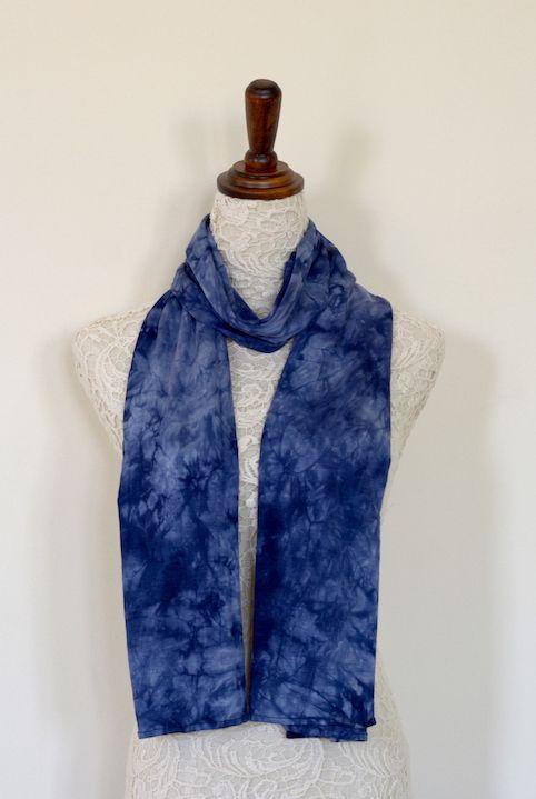 Ocean Hippie Scarf Casual Tie Dye Scarves Elegant Scarves