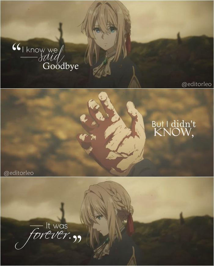 《Je sais que nous nous sommes dit au revoir mais je ne savais pas que c'étais pour toujours.》 #beautifulquotes