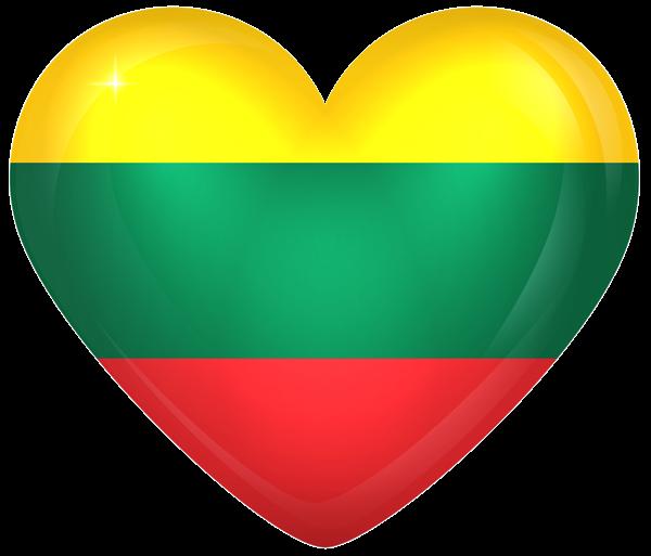 Lithuania Large Heart Flag Various Pics Pinterest Lithuania