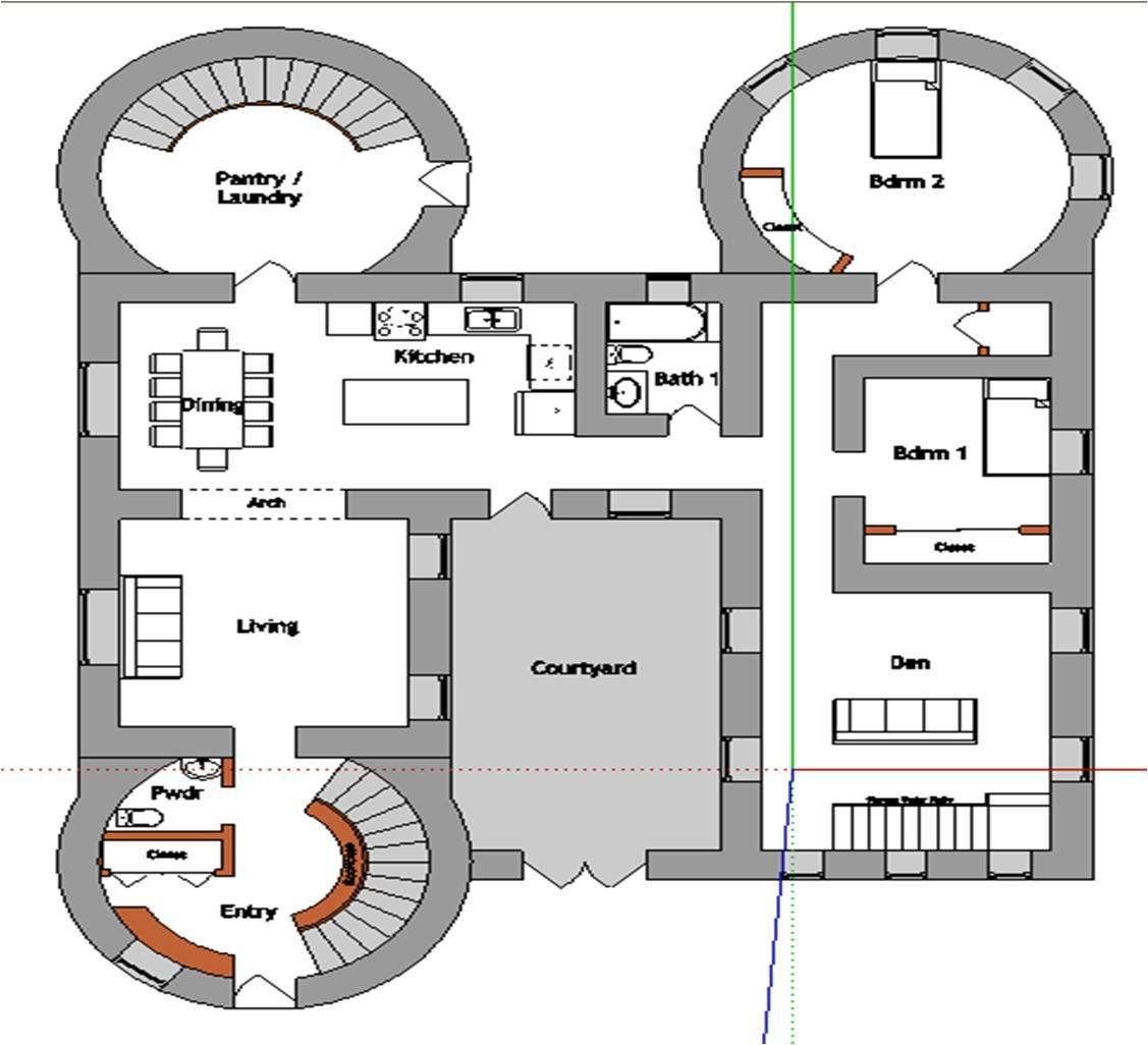 Castle Design Plan Di 2020 Denah Rumah Denah Lantai Rumah House Blueprints