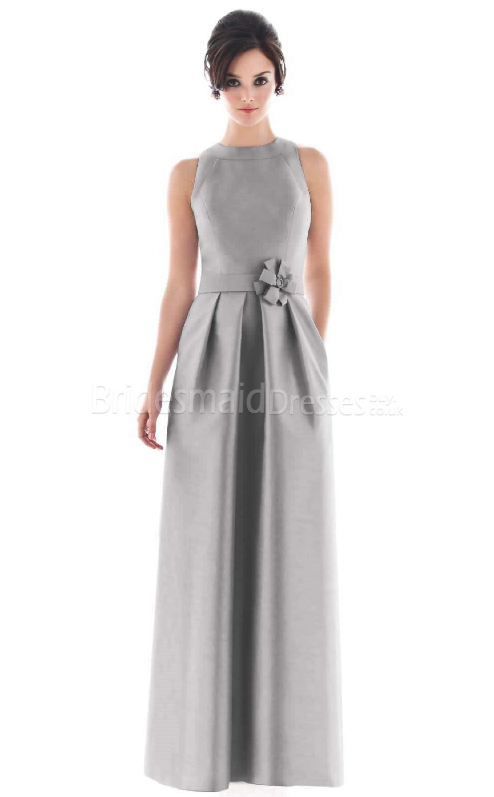 Silver bridesmaid dresses something blue pinterest wedding alfred sung long bridesmaid dress with pockets by dessy ombrellifo Choice Image