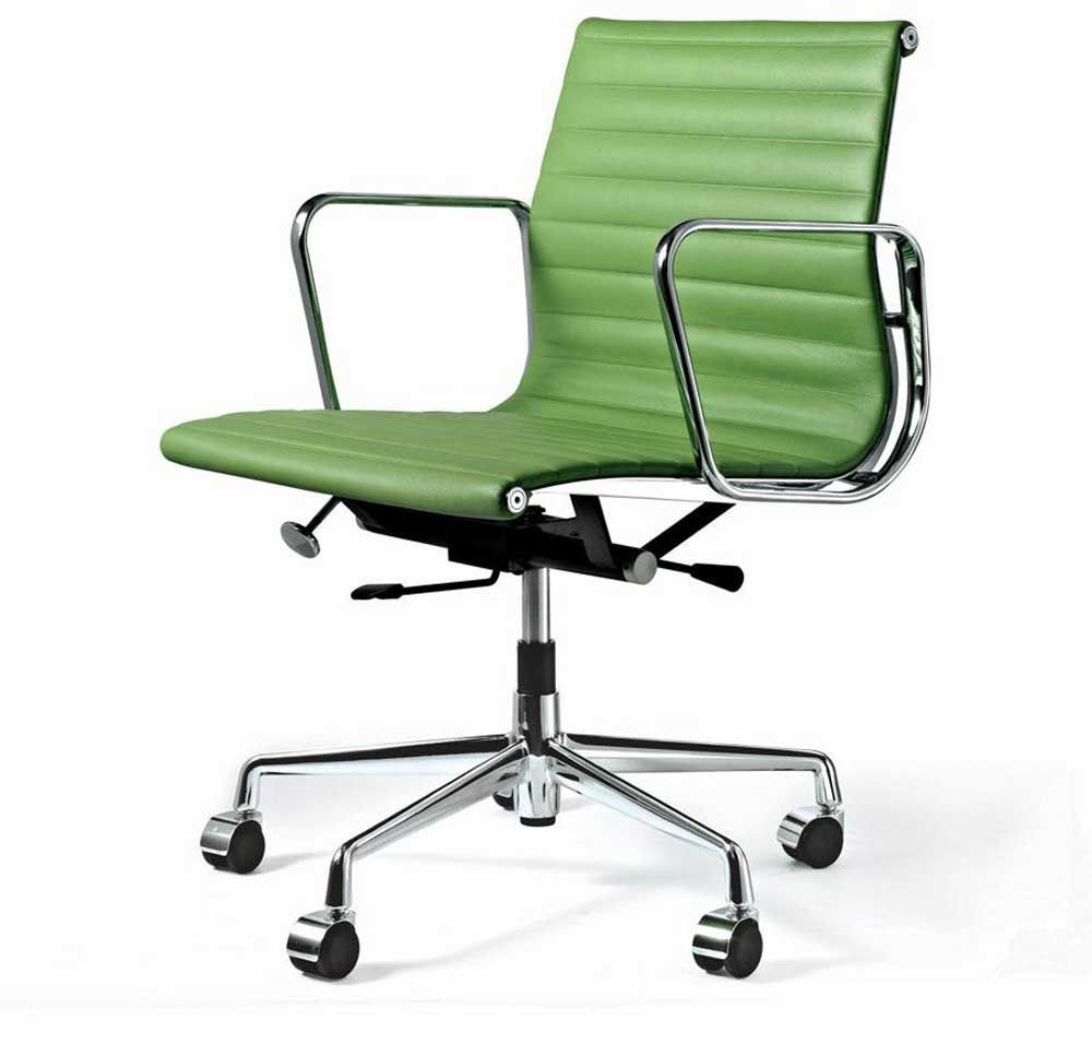Stylish Green Swivel Office Chair For Executive