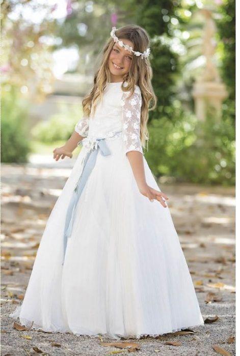 grandes ofertas último estilo de 2019 sección especial Vestido de comunión boho   Vestidos primera comunión ...