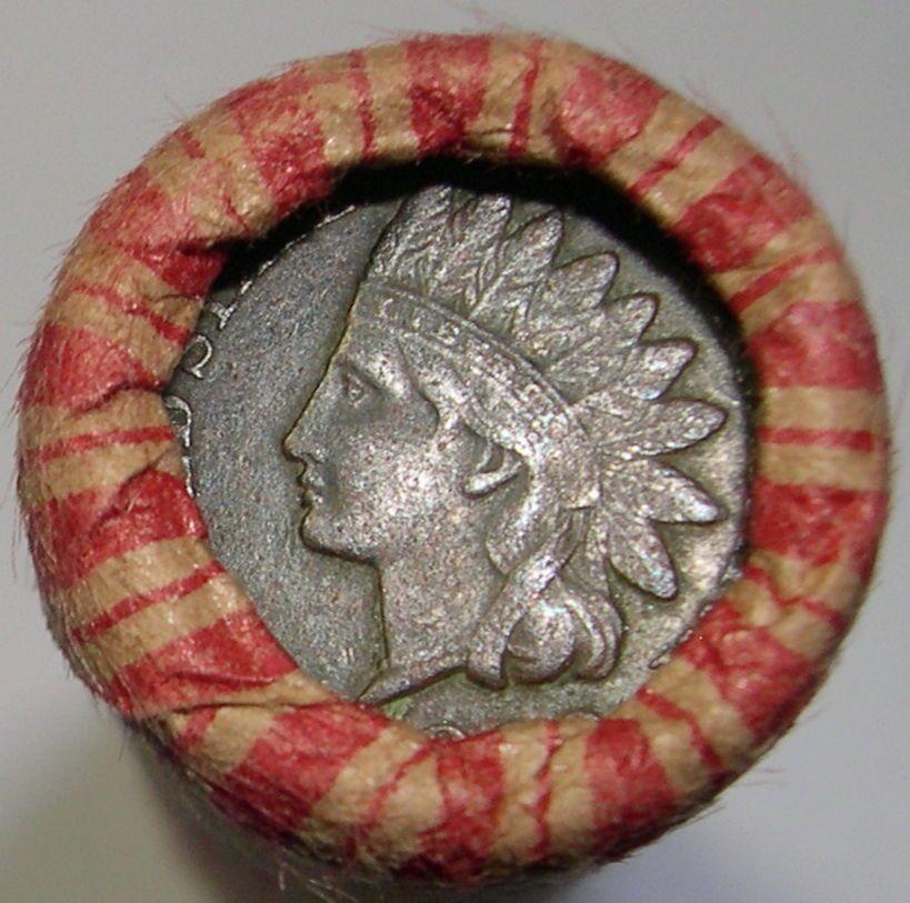 WHEAT ROLL + 1889 INDIAN HEAD CENT + 1883 INDIAN HEAD CENT + 3 BONUS COINS