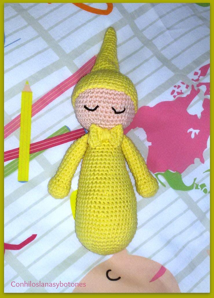 Dormilón amigurumi con pajarita | curiosidades | Pinterest ...