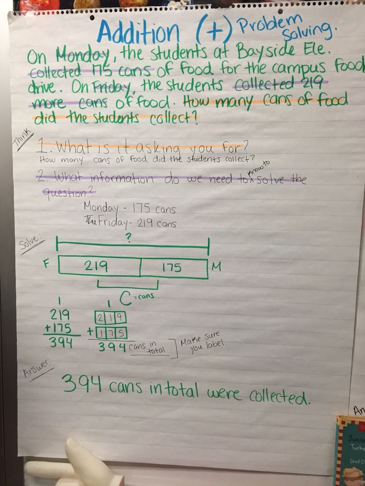 Word problem solving addition with strip diagrams school math word problem solving addition with strip diagrams ccuart Choice Image