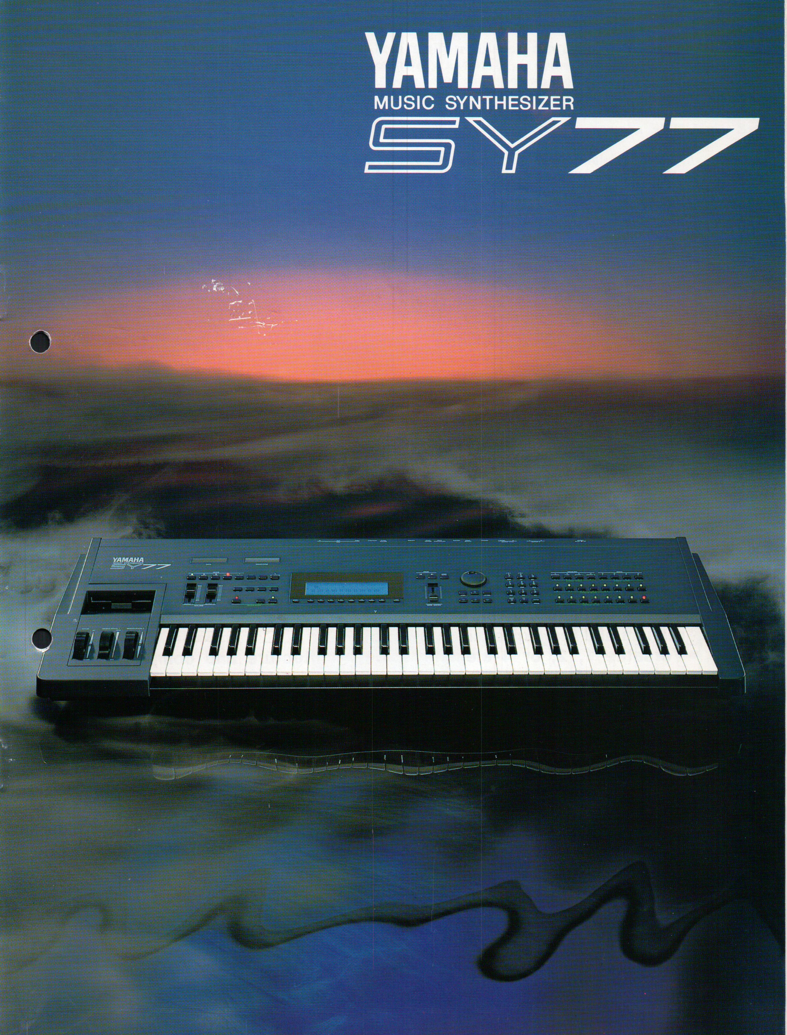 Yamaha SY77 Music synthesizer  Released approx  1989
