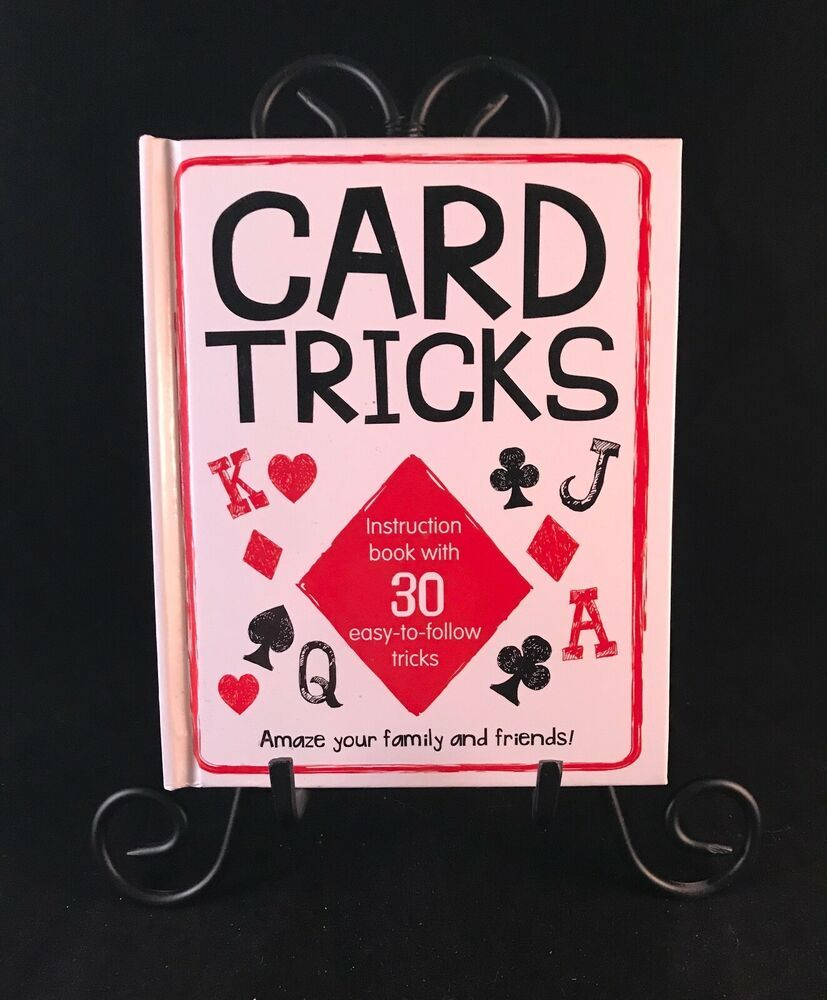 card tricks instruction book with 30 easy to follow tricks