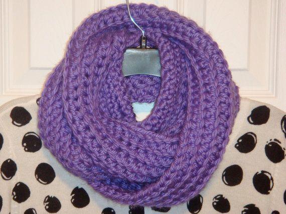 Infinity Scarf - Love Purple