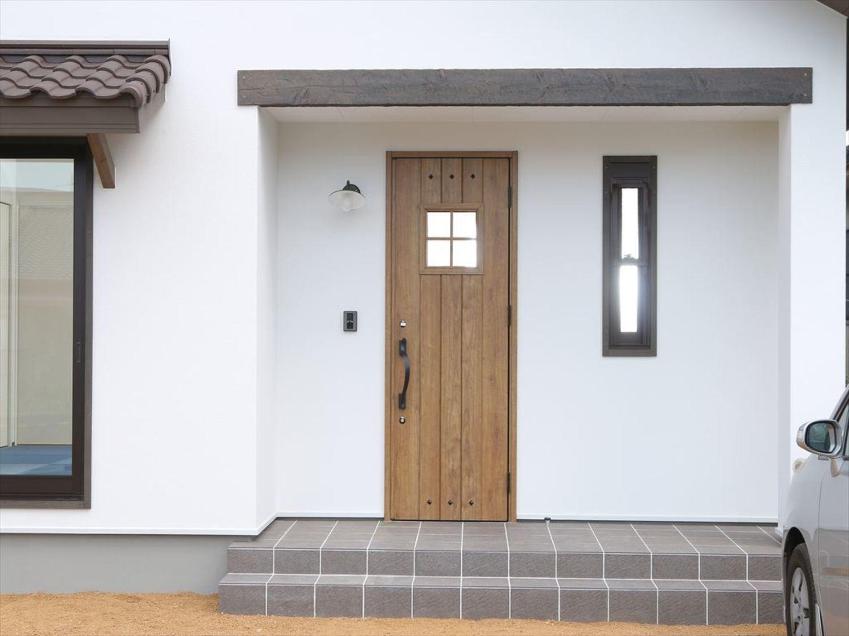 玄関ドア 室内ドア 建具事例集 室内ドア 家 外観 おしゃれ 平屋
