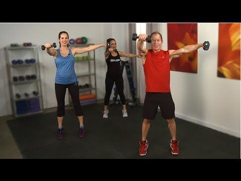 Arm and core workout video with Cameron Diaz's trainer, Teddy Bass.  Warning: annoying video ad lasts 1 minute. But the workout video itself is  great!