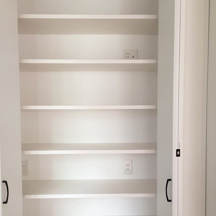 Cafe Closet02 Instagram リビクロ 床から天井までめ