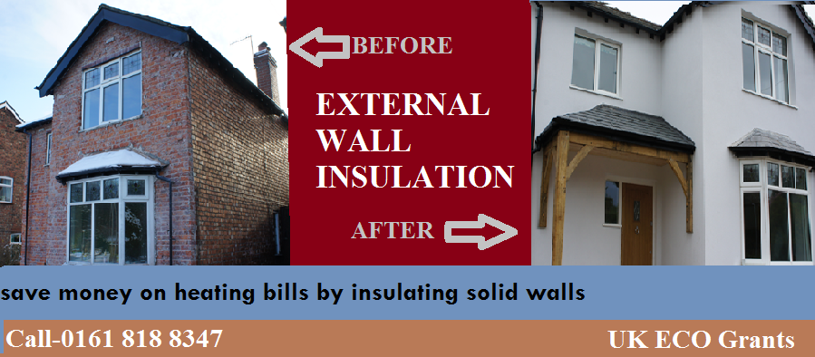 External wall insulation is the perfect solution for