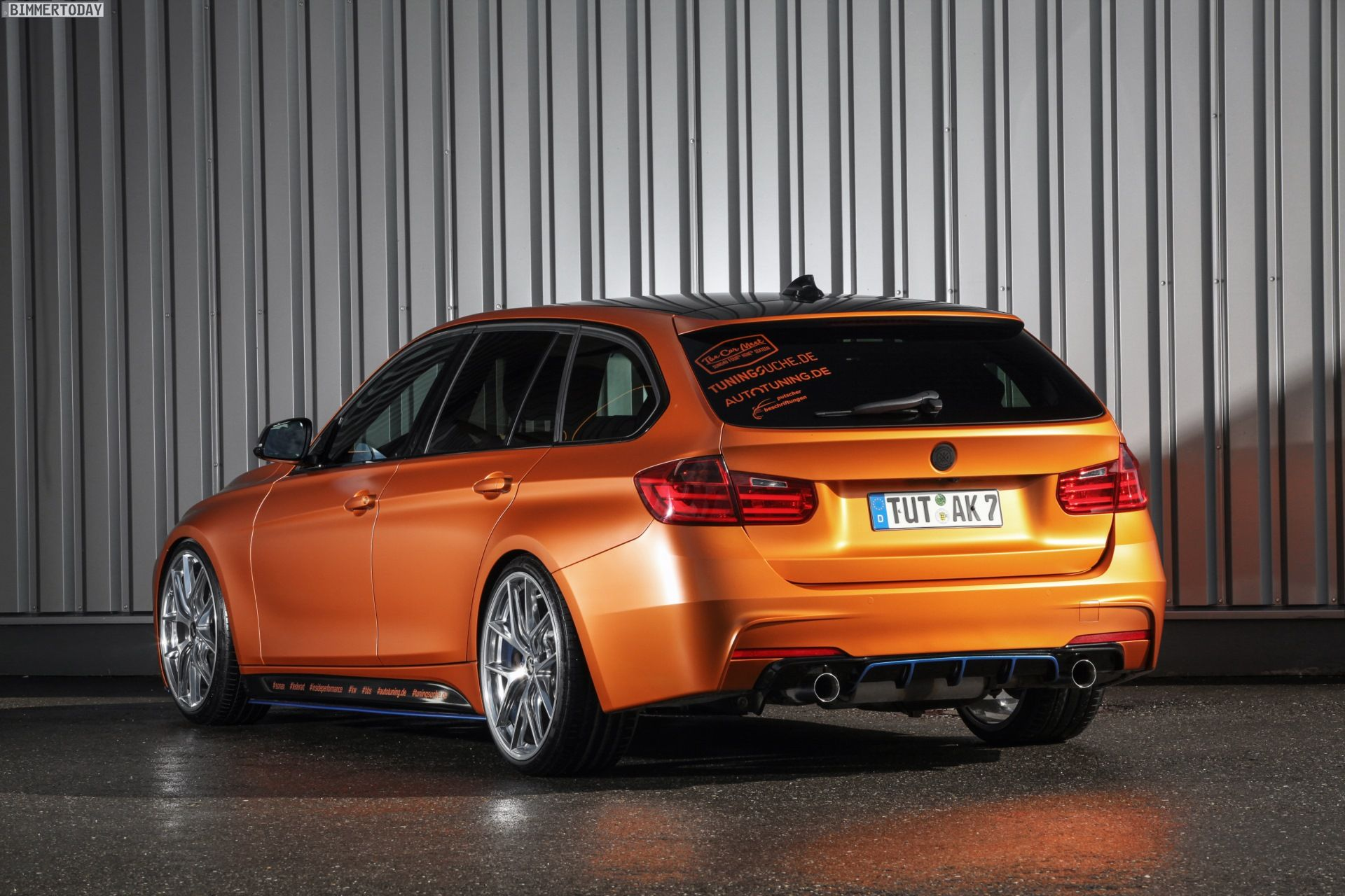 F11 alpina b5 biturbo touring page 2 5series net forums - You Might Agree That Bmw Touring Is An Exciting Rear Wheel Driven Estate Car This Is What Happened When Tuningsuche Put Their Hand